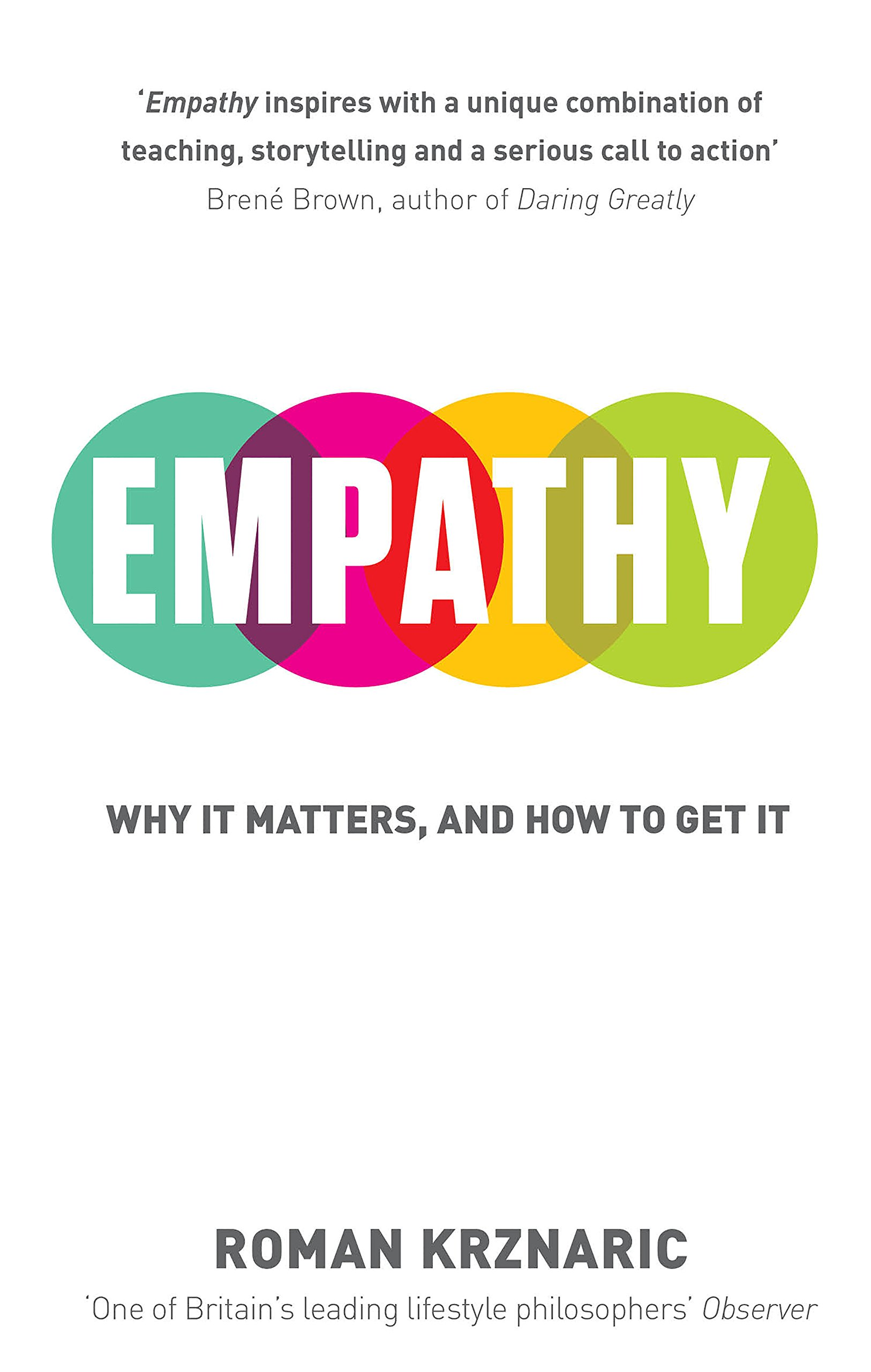 EMPATHY by Roman Krznaric