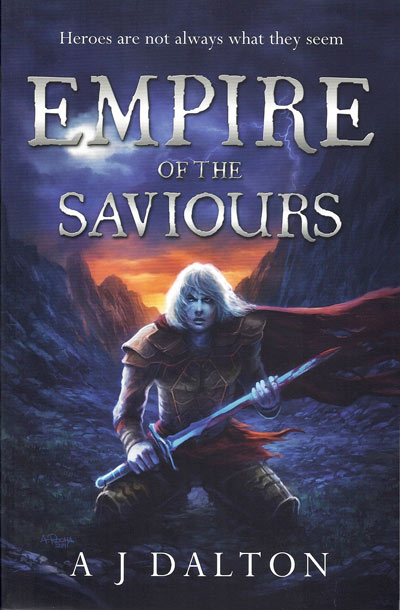 Empire of the Saviours - jacket