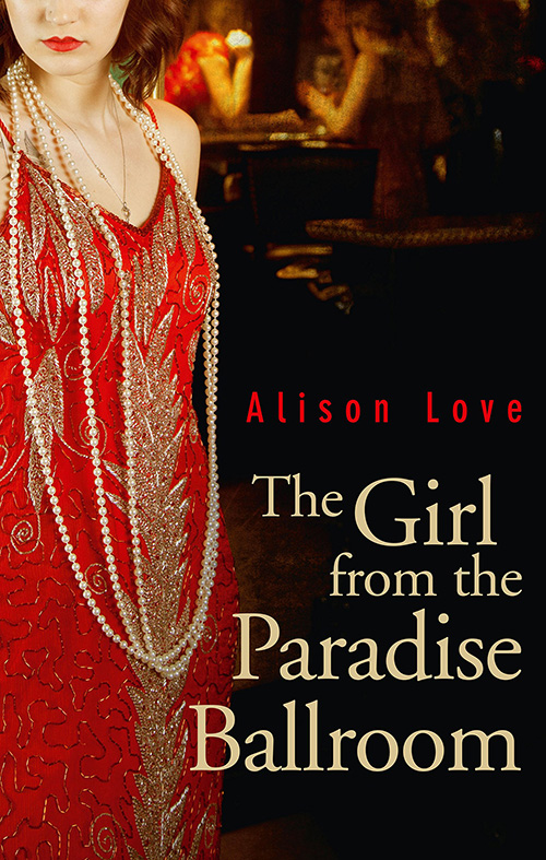 THE GIRL FROM THE PARADISE BALLROOM book jacket
